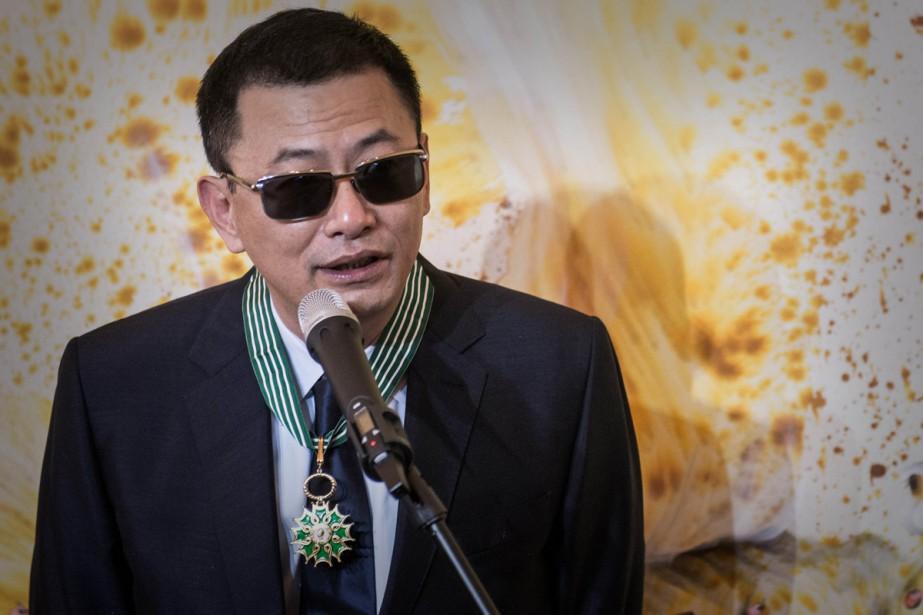 Le cinéaste chinois Wong Kar-wai recevra en octobre... (PHOTO ARCHIVES AFP)