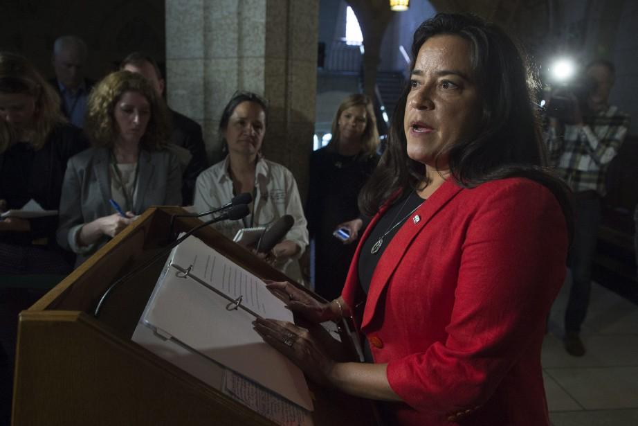 La ministre de la Justice du Canada, Jody... (Photo Adrian Wyld, archives PC)