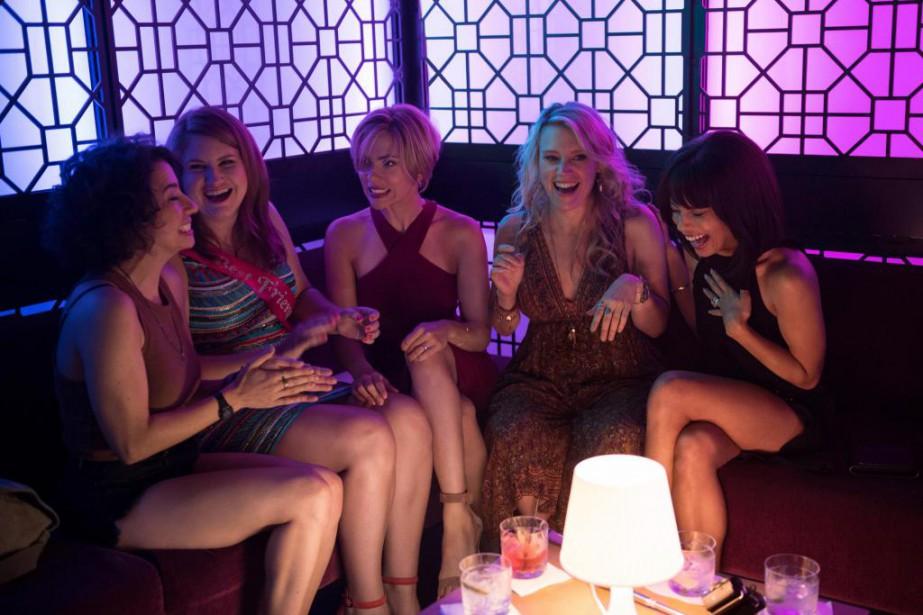 Cinq copines se retrouvent dans de beaux draps... (photo fournie par sony pictures)