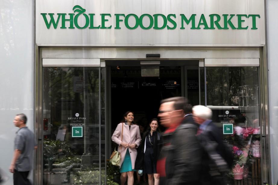 Une succursale de Whole Foods à New York.... (Photo Shannon Stapleton, Reuters)
