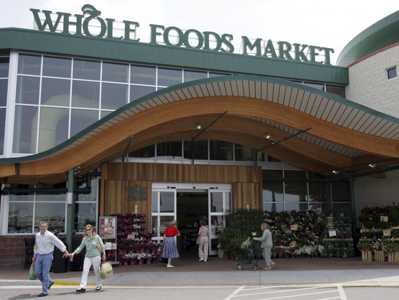 Un supermarché Whole Foods à Dallas.... (PHOTO ARCHIVES AP)