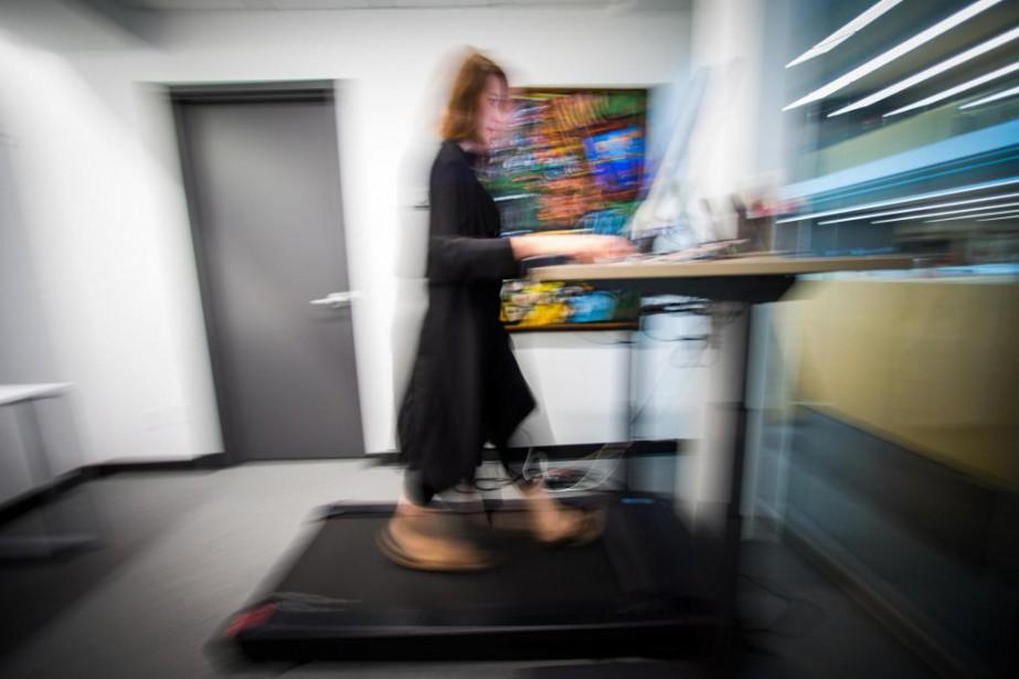 Pour échapper aux statistiques, notre journaliste a testé... (Photo Olivier Jean, La Presse)