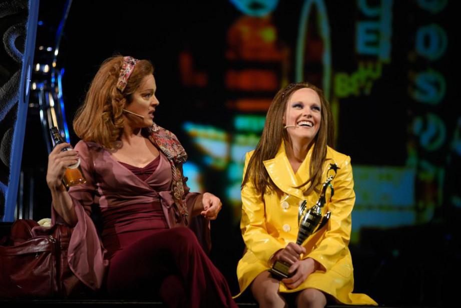 Hélène Bourgeois Leclerc etMarie-André Lemieux interprètent respectivement Lola... (Photo Yves Renaud, fournie par les FrancoFolies)