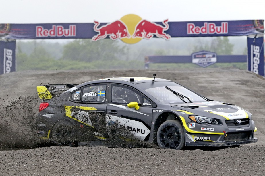 Patrik Sandell de l'équipe Subaru Rally Team USA. | 16 juin 2017