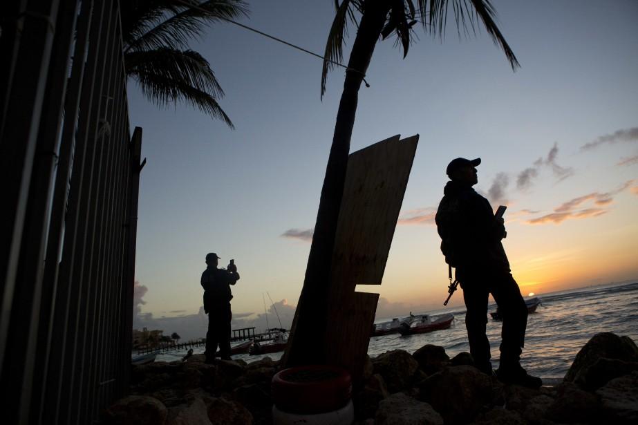 Cancún est l'une des principales destinations touristiques du... (Photo Rebecca Blackwell, AP)