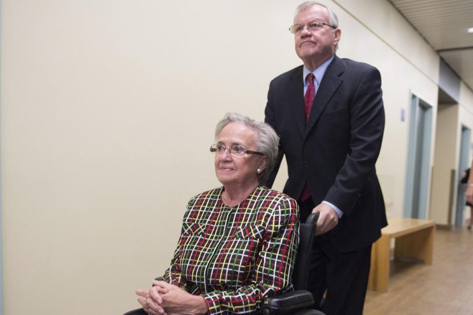 Lise Thibault et conjoint Réal Cloutier en septembre... (Photo Jacques Boissinot, archives La Presse Canadienne)