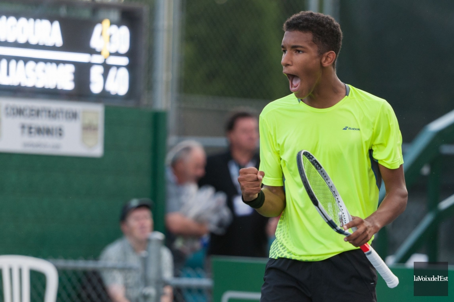 Félix Auger-Aliassime... (PHOTO ARCHIVES LA VOIX DE L'EST)