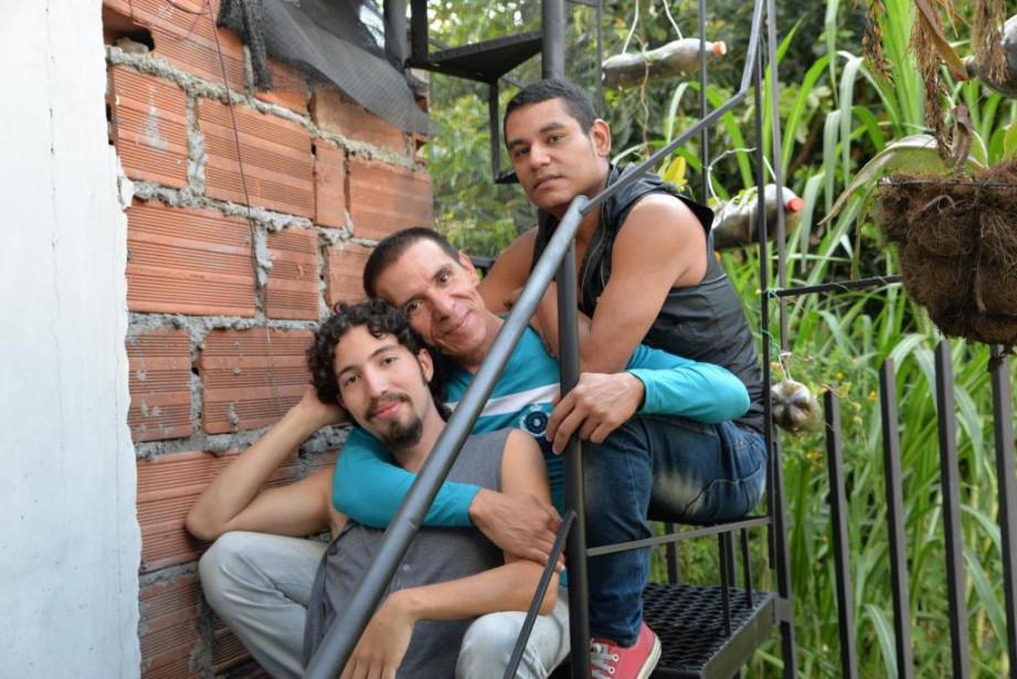 De bas en haut,:Víctor Hugo Prada, Manuel Bermúdez... (PHOTO SARAH NABIL, COLLABORATION SPÉCIALE)