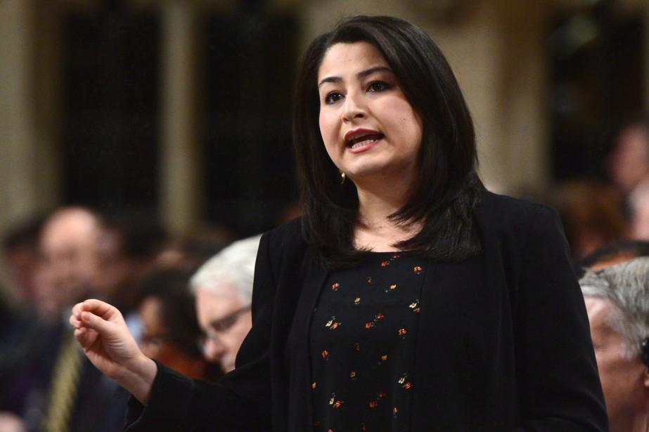 La ministre de la Condition féminine, Maryam Monsef,... (photo Sean Kilpatrick, La Presse canadienne)