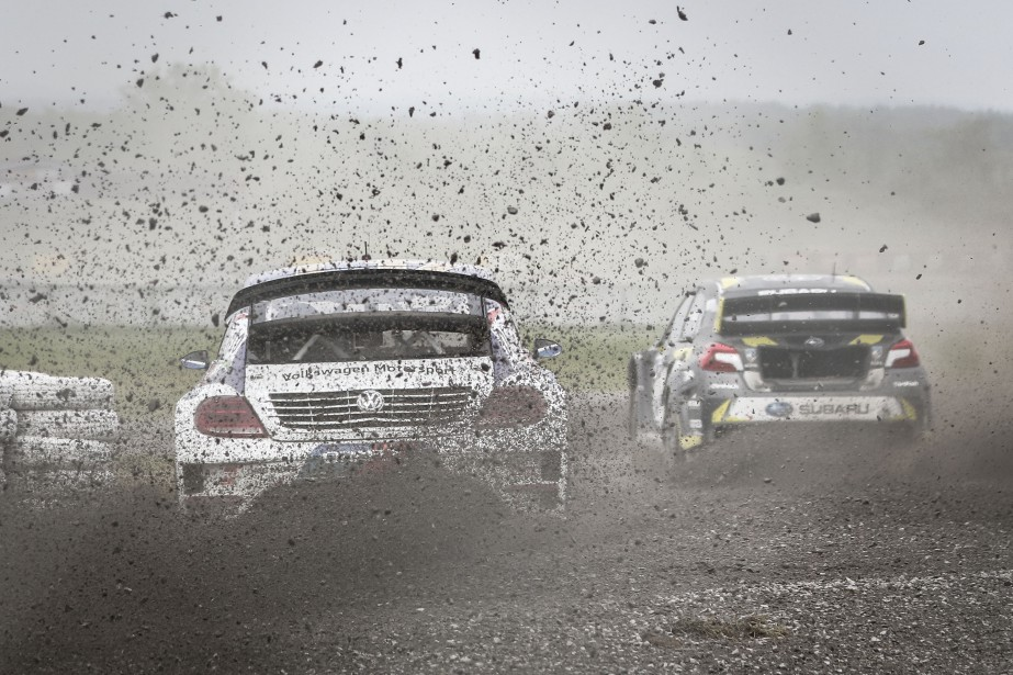 Le Red Bull Rallycross déplace de l'air. | 18 juin 2017