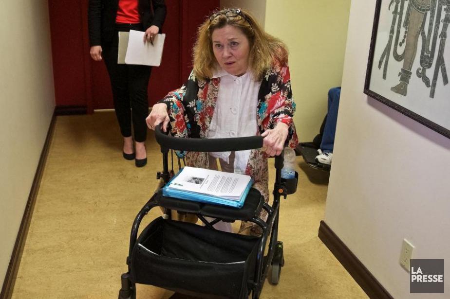 Nicole Gladu, 71 ans, est atteinte du syndrome... (PHOTO ANDRÉ PICHETTE, ARCHIVES LA PRESSE)
