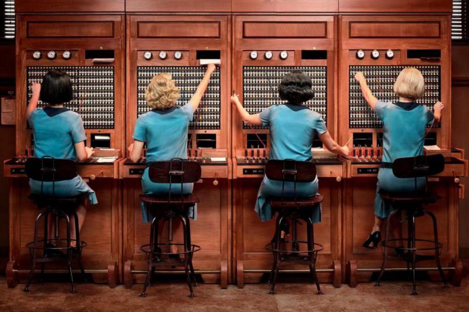 Las chicas del cableest la première télésérie en... (Photo fournie par Netflix)