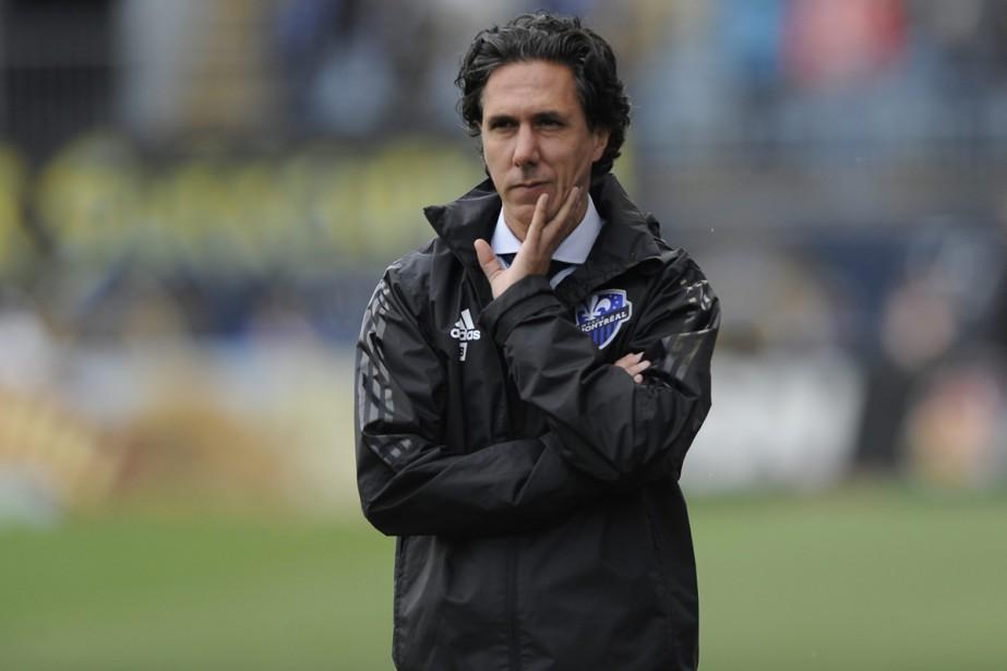 L'entraîneur-chef Mauro Biello a ciblé un point en... (PHOTO ARCHIVES AP)