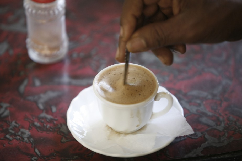 Le café représente un quart des recettes d'exportation... (ARCHIVES AFP)