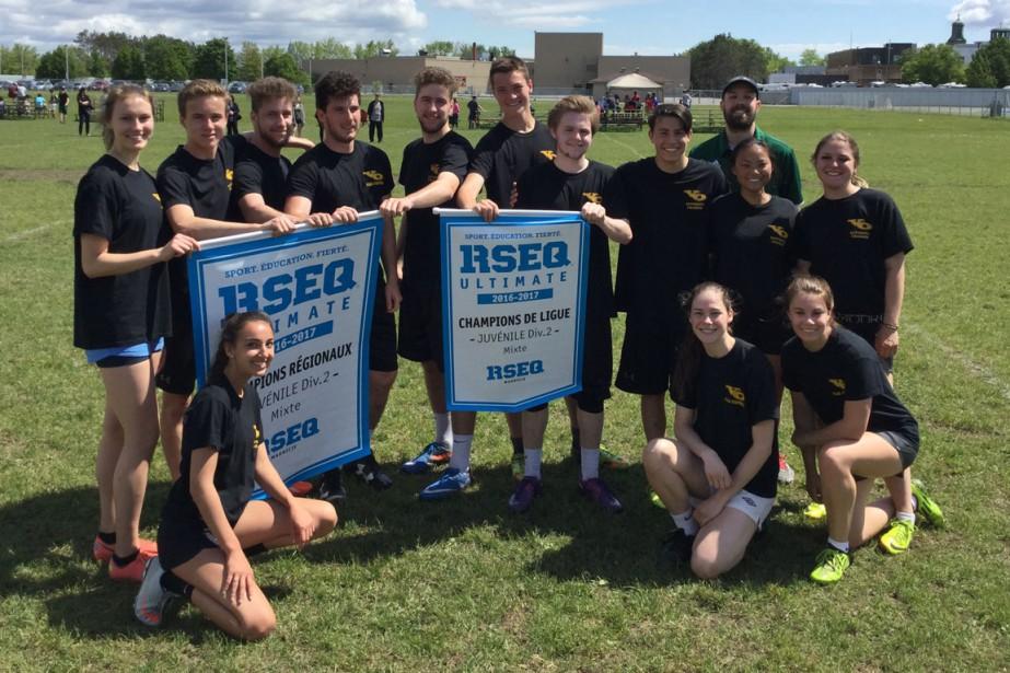 Ultimate Frisbee:  Séminaire Saint-Joseph. Juvénile division 2. Champions de ligue et des séries. | 20 juin 2017
