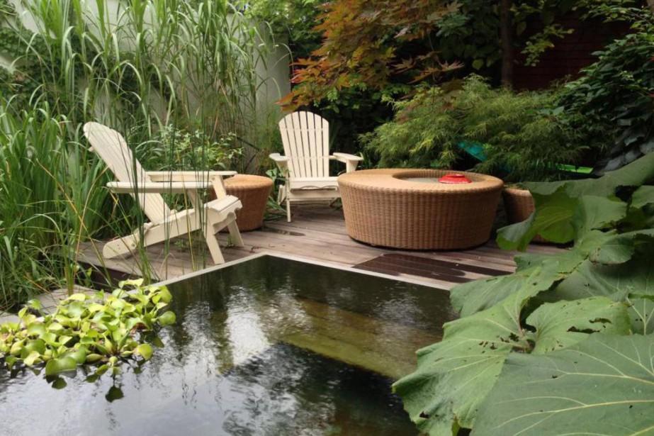 Un jardin de baignade... (Photo fournie par TOPIA)
