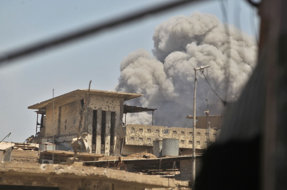 Huit mois après le début de l'offensive pour... (Photo AFP)