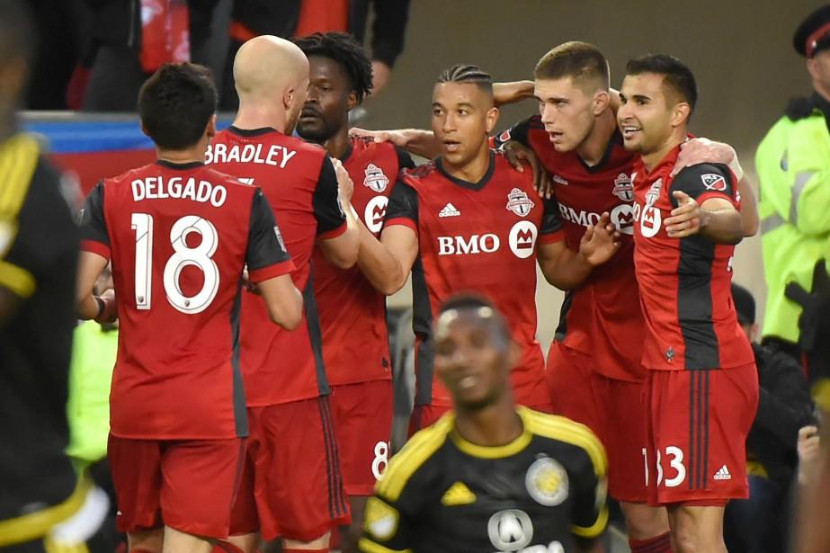 Le Toronto FC trône au sommet du classement... (Photo Dan Hamilton, archives USA Today Sports)