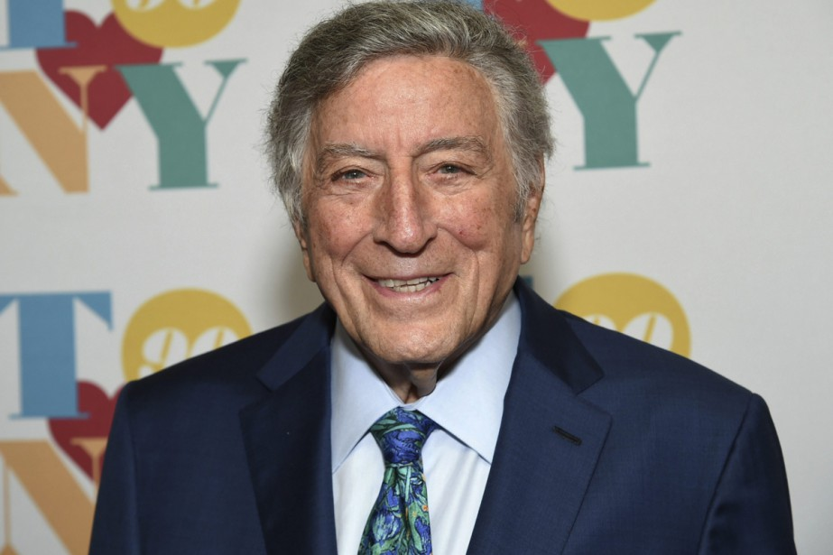 Le crooner américain de 90 ans Tony Bennett sera... (PHOTO ARCHIVES AP)