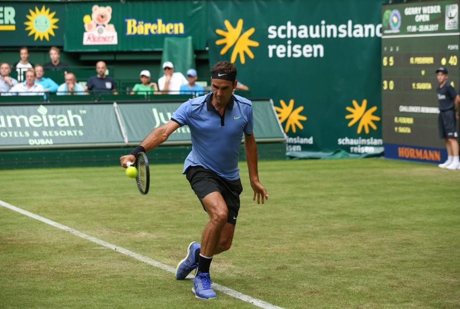 Roger Federer... (Photo Friso Gentsch, AFP)
