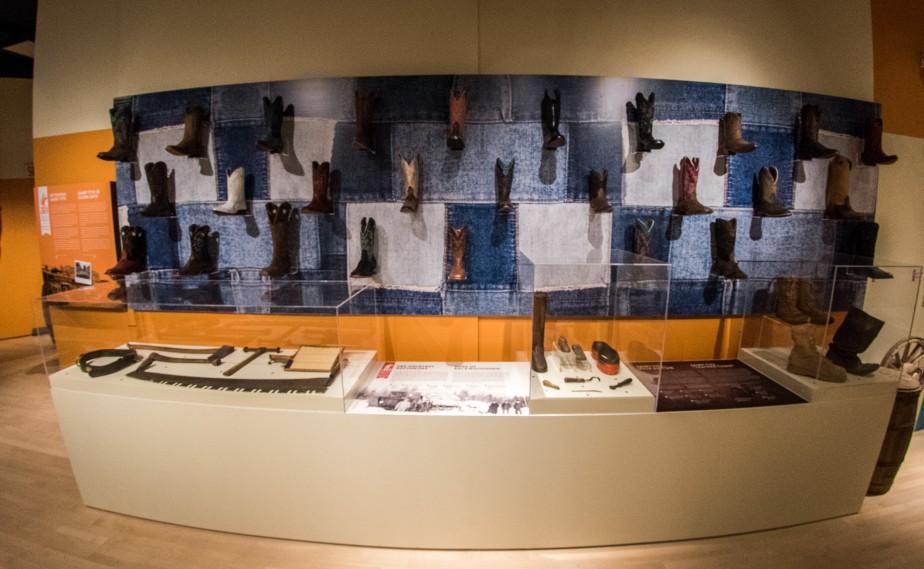 Le Musée québécois de culture populaire présente l'exposition Notre Far West , qui relate l'histoire du Festival western de Saint-Tite. Cette exposition a été conçue dans le cadre du 50e anniversaire de l'événement. | 21 juin 2017