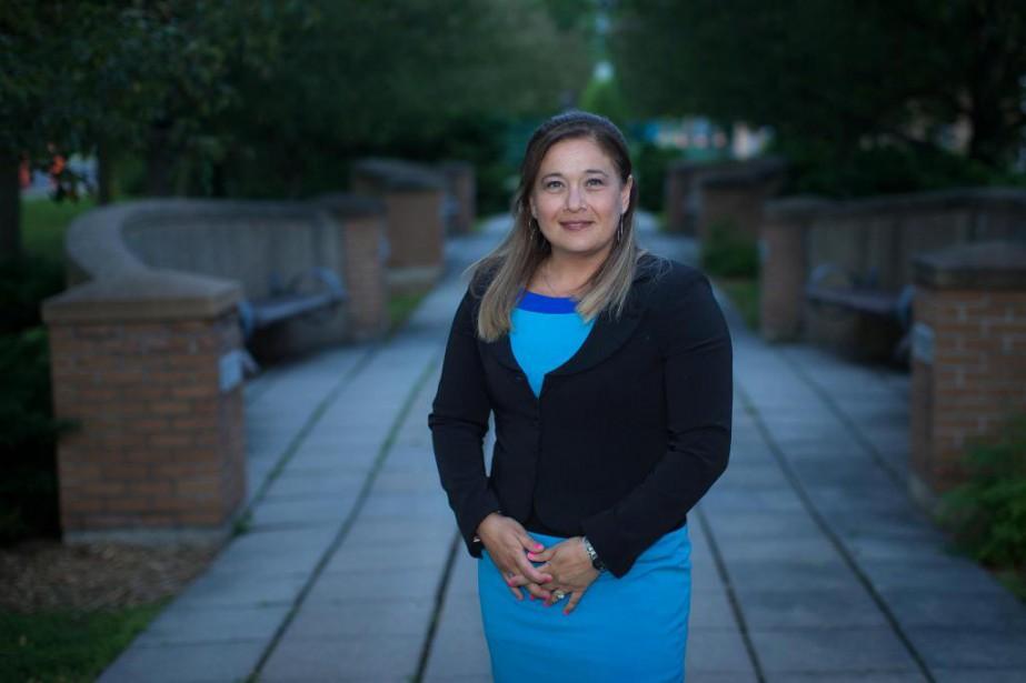 Doreen Assaad est candidate à la mairie de... (Photo Olivier PontBriand, La Presse)