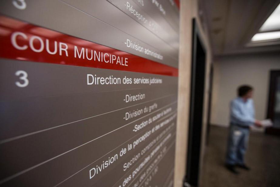 La cour municipale de Montréal connaît d'importants délais.... (Photo Olivier PontBriand, Archives La Presse)