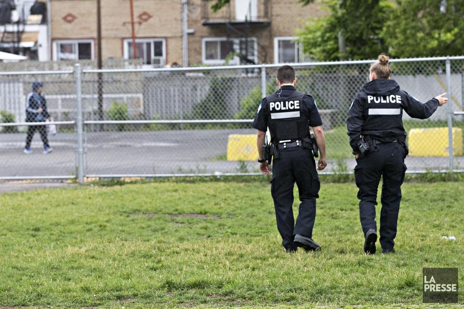 Les policiers du SPVM sont a la recherche... (Photo Patrick Sanfaçon, La Presse)