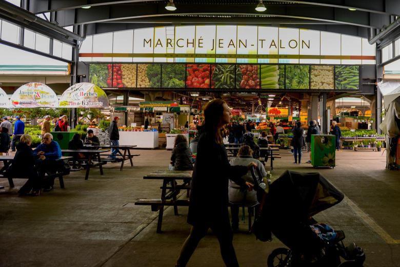 Le marché Jean-Talon accueille l'événement Boire et manger... (PHOTO CATHERINE LEFEBVRE, COLLABORATION SPÉCIALE)
