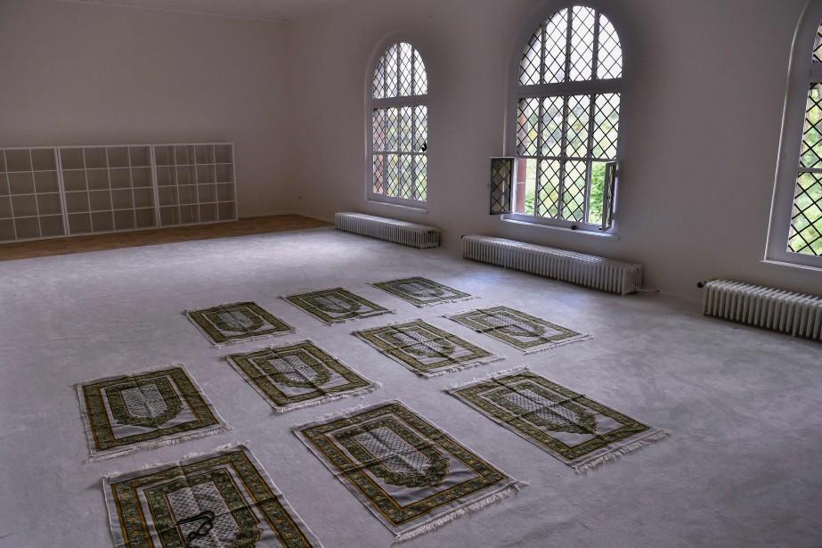 La mosquée Ibn Rushd-Goethe a été inaugurée la... (PHOTO AFP)