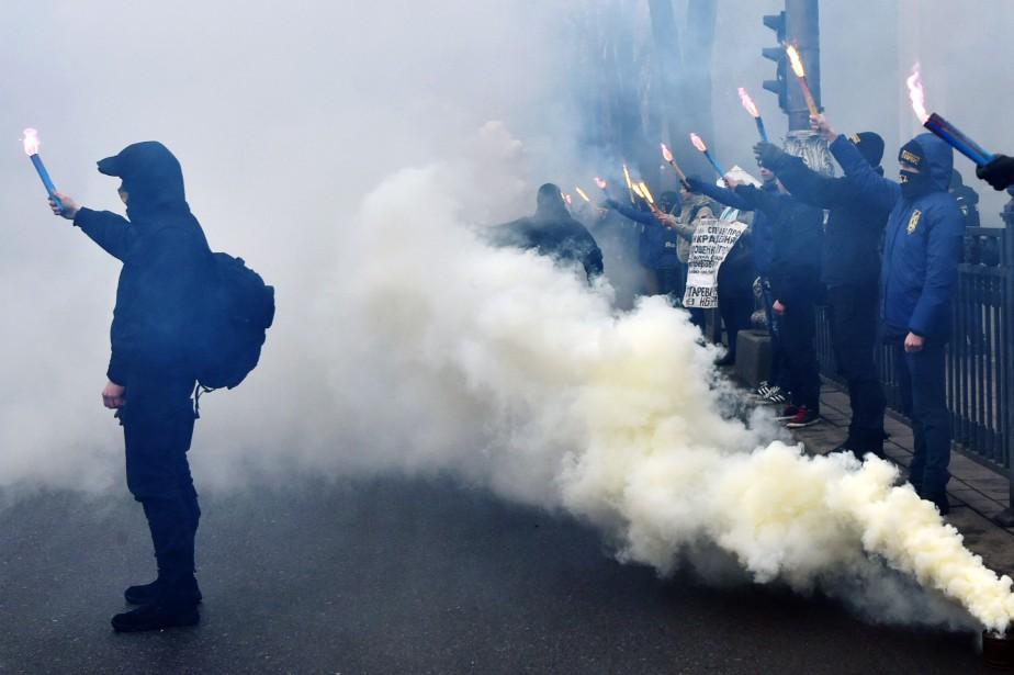 Les États-Unis ont annoncé mardi de nouvelles sanctions... (PHOTO AFP)