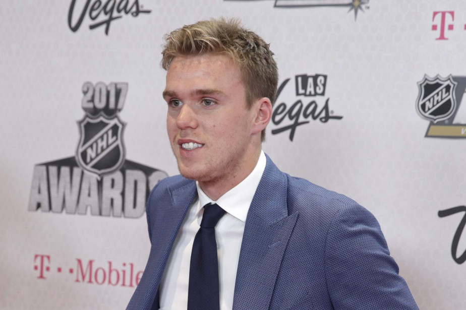 Connor McDavid... (PHOTO John Locher, AP)