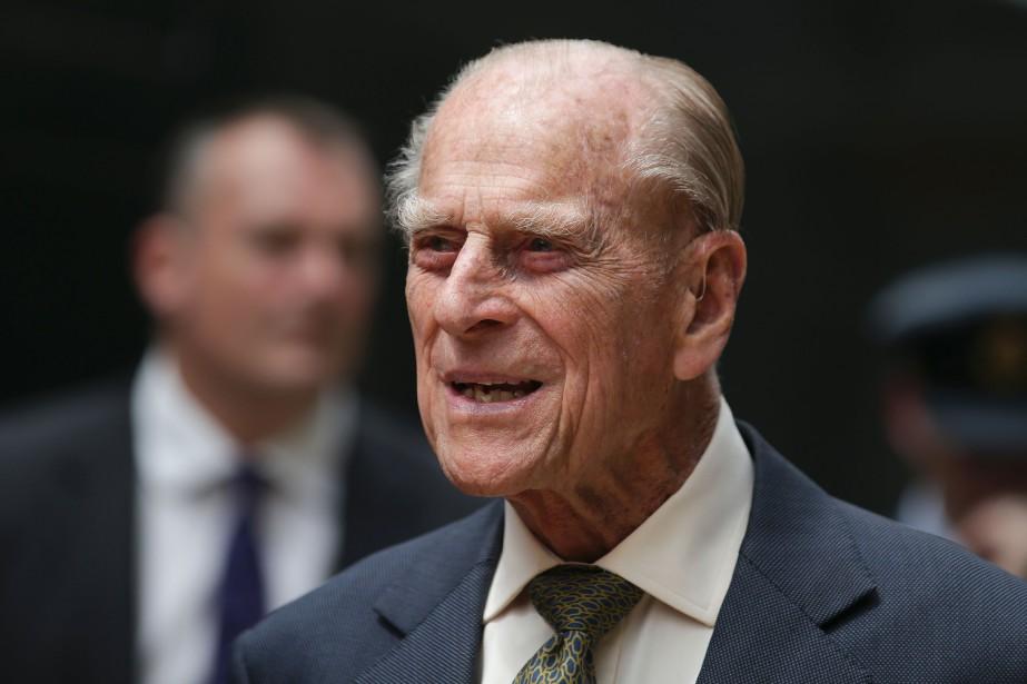 Le prince Philip, 96 ans, avait été hospitalisé... (AFP)