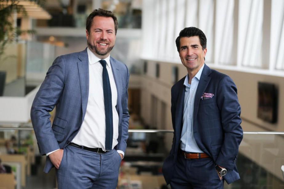 Stéphane Côté, président de DevMcGill, et Mathieu Duguay,... (Photo Martin Tremblay, La Presse)