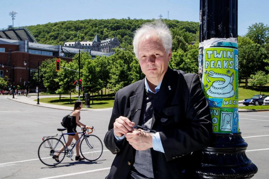 Figure de proued'Héritage Montréal, l'architecte Dinu Bumbaru publie... (PHOTO ALAIN ROBERGE, LA PRESSE)