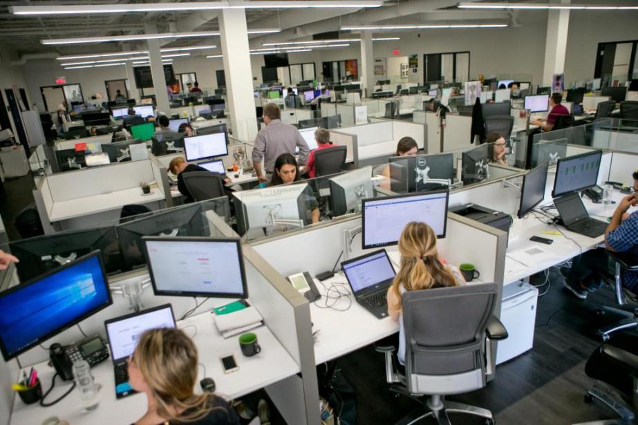 Lulu Software compte environ une quarantaine d'employés à... (PHOTO DAVID BOILY, LA PRESSE)