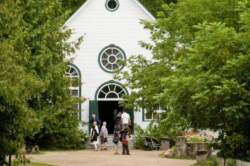 La chapelle Saint-Frédéric de Drummondville est située au... (Photo David Boily, Archives La Presse)