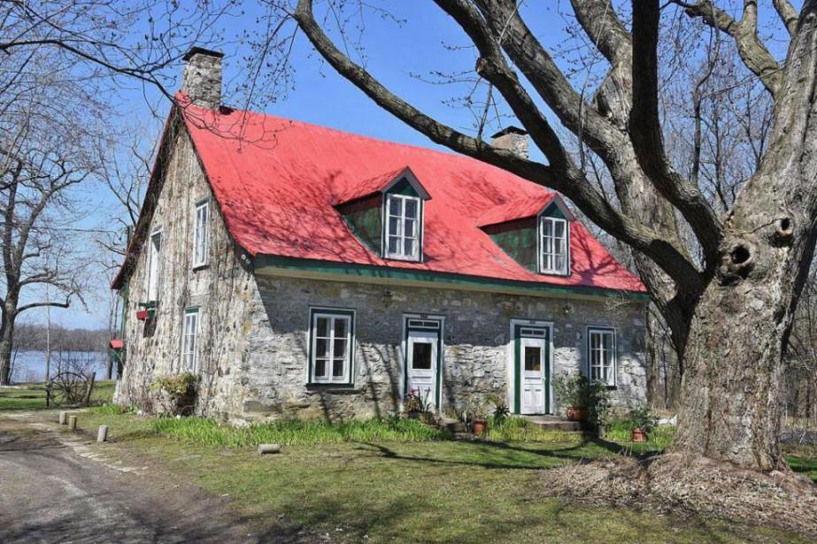 Véritable sujet de carte postale, la maison au... (Photo fournie pr Re/Max 2001 CRTM)
