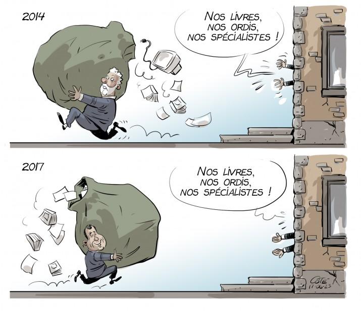 Caricature du 23 juin | 22 juin 2017