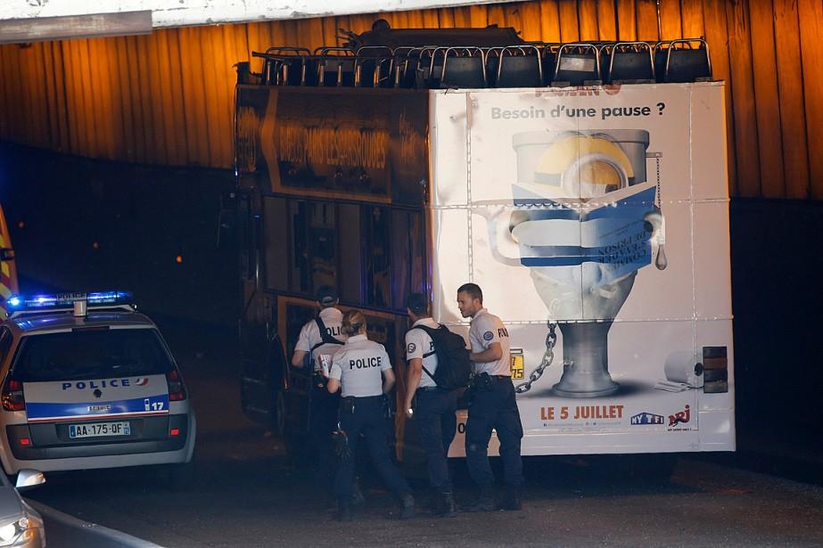 Au moins 18voyageurs «ont été impliqués» dans cet... (PHOTO JEAN-PAUL PELISSIER, REUTERS)