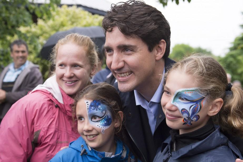 Le premier ministre Justin Trudeau a pris le... (Photo Jacques Boissinot, La Presse canadienne)