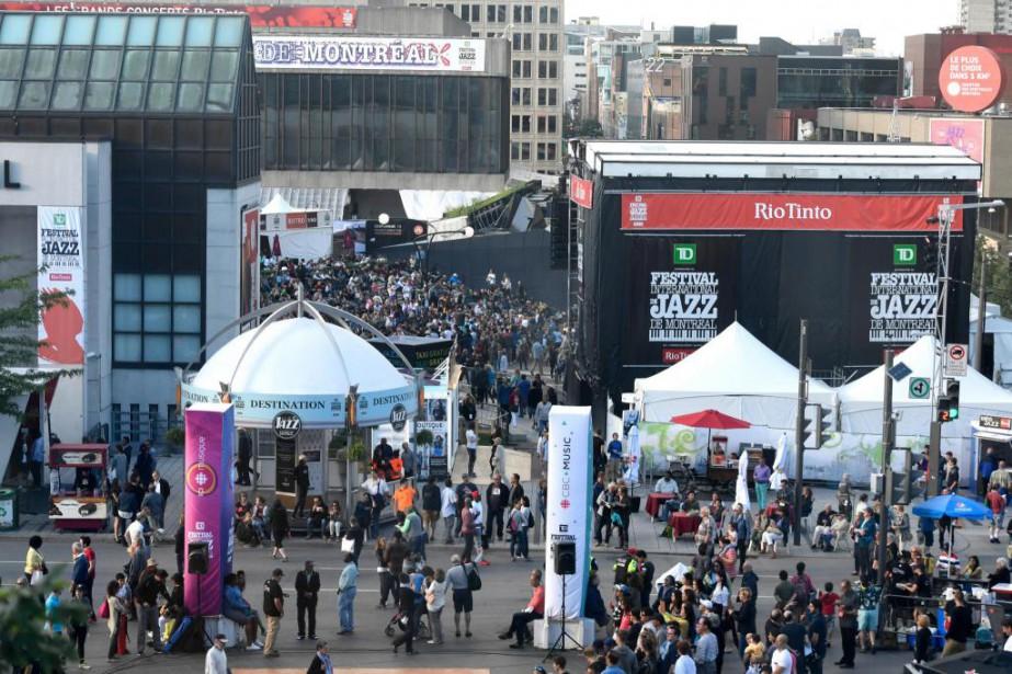 Le grand patron du Festival de jazz a... (PHOTO BERNARD BRAULT, ARCHIVES LA PRESSE)