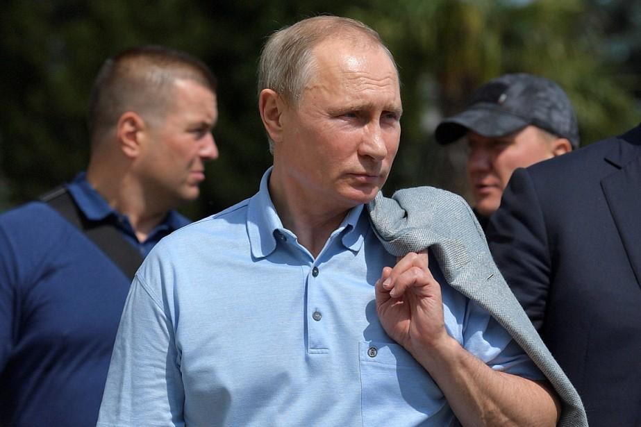 Le président russe Vladimir Poutine a visité le... (PHOTO REUTERS/SPUTNIK/FOURNIE PAR LE KREMLIN)