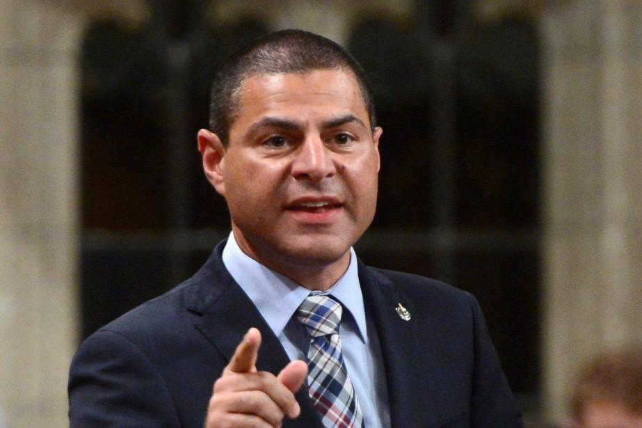 Alain Rayes, auparavant maire de Victoriaville, estdéputé de... (Photo Sean Kilpatrick, archives La Presse canadienne)