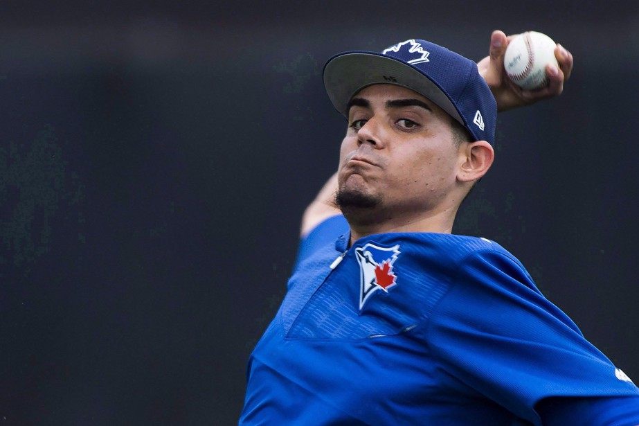 Hors d'un terrain de baseball, Roberto Osuna dit... (Photo Nathan Denette, La Presse canadienne)