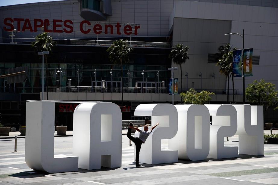 Los Angeles est en concurrence avec Paris pour... (PHOTO JAE C. HONG, ARCHIVES ASSOCIATED PRESS)