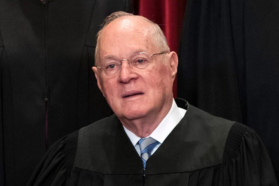 Le juge Kennedy, nommé par le président républicain... (PHOTO J. SCOTT APPLEWHITE, ARCHIVES ASSOCIATED PRESS)