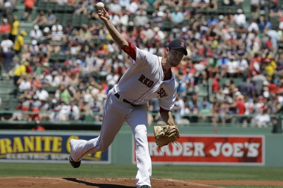 Doug Fister a perdu son premier match avec... (Photo Steven Senne, AP)