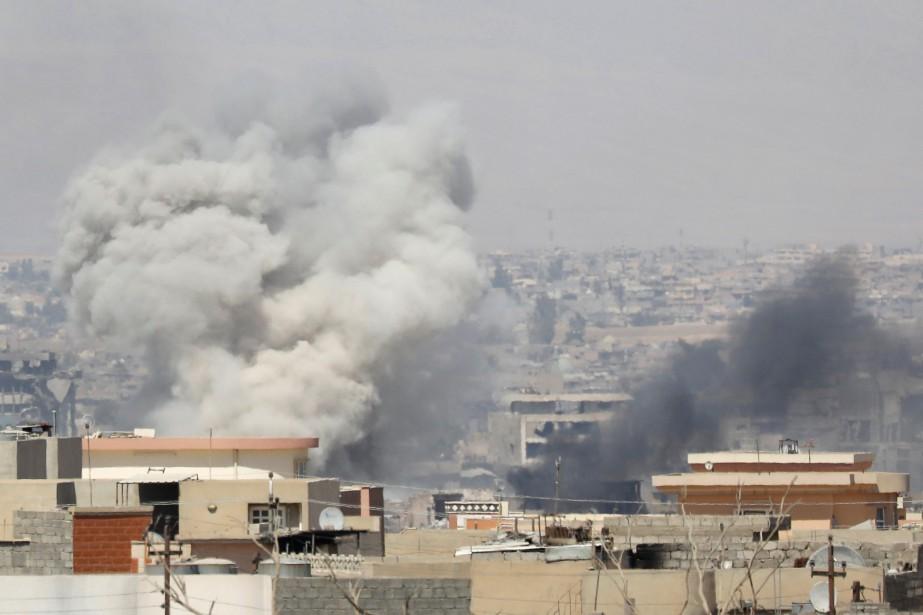 Les forces irakiens ont attaqué des positions djihadistes... (Photo Erik de Castro, archives REUTERS)
