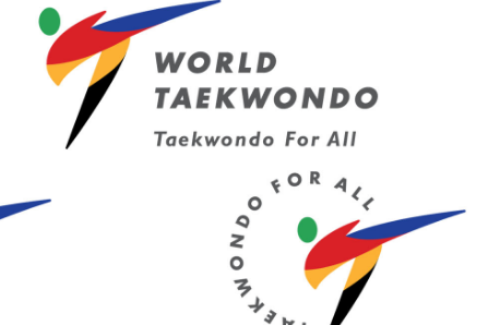 Les nouveaux logos de World Taekwondo.... (Image tirée du site de World Taekwondo)